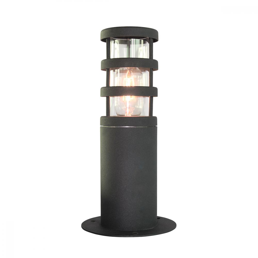 Image of 304 SS/Black Pedestal Lantern - 1 x 60W E27 by Happy Homewares