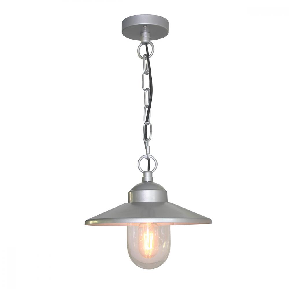 Image of 304SS/Silver Chain Lantern - 1 x 60W E27 by Happy Homewares