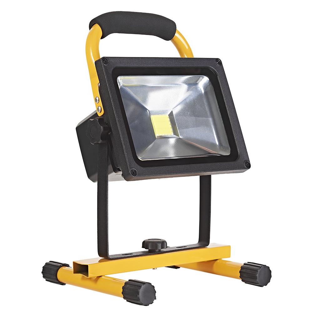 Image of 20W Rechargeable LED Portable Flood/Work Light IP44 Rated by Happy Homewares